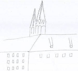 Skizze Peterskirche Görlitz